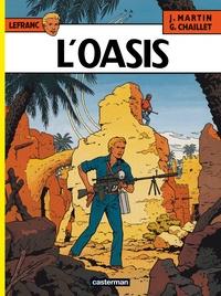Jacques Martin et Gilles Chaillet - Lefranc Tome 7 : L'oasis.