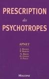 Jacques Massol et P Martin - Prescription des psychotropes.