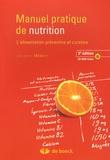 Jacques Médart - Manuel pratique de nutrition - L'alimentation préventive et curative. 1 Cédérom
