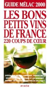 Icar2018.it Les bons petits vins de France - Guide Mélac 2000 Image