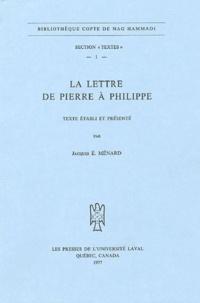 Jacques Ménard - La lettre de Pierre à Philippe.