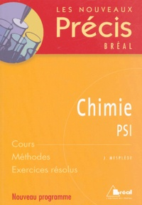 Jacques Mesplède - Chimie - PSI.