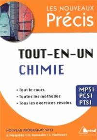 Jacques Mesplède et M Dumoulin - Tout-en-un chimie MPSI-PCSI-PTSI.