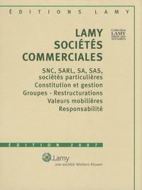 Jacques Mestre et Dominique Velardocchio - Lamy sociétés commerciales - 2 volumes. 2 Cédérom