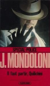 Jacques Mondoloni - Il faut partir, Quilichini.