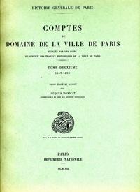 Accentsonline.fr Comptes du domaine de la Ville de Paris - Tome 2, 1457-1489 Image