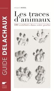 Jacques Morel - Les traces d'animaux - 100 vertébrés dans votre poche.