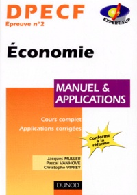 DPECF épreuve n° 2 Economie. Manuel et applications.pdf