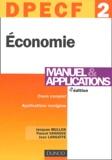Jacques Muller et Pascal Vanhove - Economie DPECF 2 - Manuel & applications.