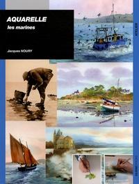 Lesmouchescestlouche.fr Aquarelle : Les marines Image