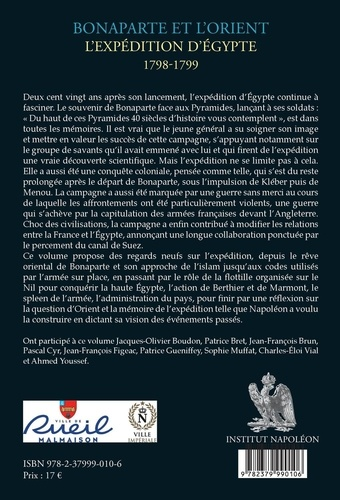 Bonaparte et l'Orient. L'expédition d'Egypte - 1798-1799