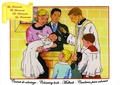 Jacques Olivier - Carnet de coloriage : Les Sacrements - Edition quadrilingue français-anglais-allemand-espagnol.