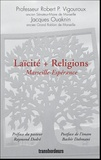 Jacques Ouaknin et Robert-P Vigouroux - Laïcité + Religions - Marseille-Espérance.