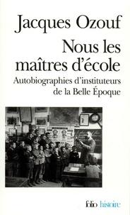 Jacques Ozouf - .