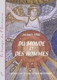 Jacques Paul - Du monde et des hommes - Essai sur la perception médiévale.