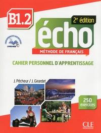 Lesmouchescestlouche.fr Echo B1.2 - Cahier personnel d'apprentissage Image