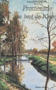 Jacques Peyrafitte - Promenade au bord de l'Orge.