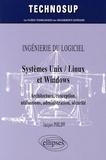 Jacques Philipp - Systèmes Unix / Linux et Windows - Architecture, conception, utilisations, administration, sécurité.