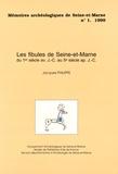 Jacques Philippe - Les fibules de Seine-et-Marne - Du 1er siècle avant J-C au 5e siècle après J-C.