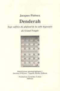 Jacques Pialoux - Denderah - Sept soffites du plafond de la salle hypostyle du Grand Temple.