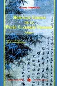 Openwetlab.it MORCEAUX CHOISIS DE LA PROSE CLASSIQUE CHINOISE. - Volume 1 Image