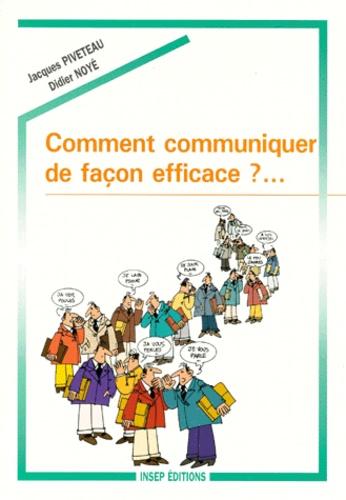 Comment communiquer de façon efficace ?. Support de travail personnel