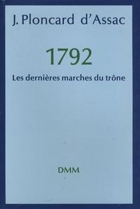 Corridashivernales.be Les dernières marches du trône - 1792 Image