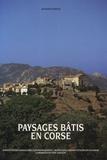 Jacques Poncin - Paysages bâtis en Corse.