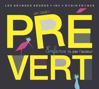 Jacques Prévert - Enfance. 2 CD audio