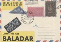 Jacques Prévert et André François - Lettre des îles Baladar.