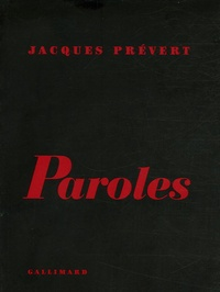 Jacques Prévert - Paroles.
