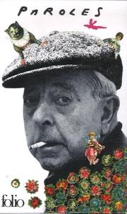Jacques Prévert - Paroles - Avec un livret.