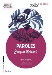 Bookworm téléchargeable gratuitement Paroles iBook DJVU PDF par Jacques Prévert (French Edition)