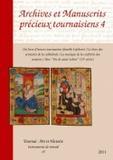 Jacques Pycke - Archives et manuscrits précieux tournaisiens, 4.