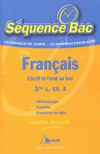Jacques Quintallet et Anne Spicher - Français 1e L, ES, S.
