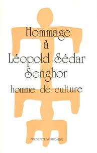Jacques Rabemananjara - Hommage à Leopold Sédar Senghor. - Homme de culture.