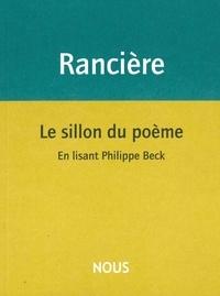 Le sillon du poème - En lisant Philippe Beck.pdf