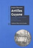 Jacques Rancourt - Antilles-Guyane - Anthologie de poésie antillaise et guyanaise de langue française.