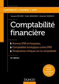 Téléchargements mp3 gratuits de livres légaux Comptabilité financière (Litterature Francaise) par Jacques Richard, Didier Bensadon, Alexandre Rambaud CHM 9782100774968