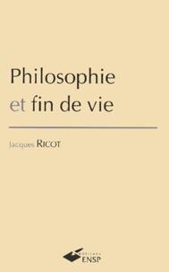 Jacques Ricot - Philosophie et fin de vie.