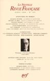 Jacques Rivière et Michel Le Bris - La Nouvelle Revue Française N° 585 : Hommage à Chrstian Bourgois - Avril 2008.