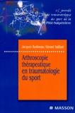 Jacques Rodineau et Gérard Saillant - Arthroscopie thérapeutique en traumatologie du sport - 23e journée de traumatologie du sport de la Pitié-Salpêtrière.