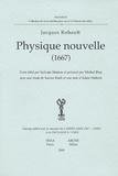 Jacques Rohault - Physique nouvelle (1667).