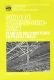 Jacques Rondal et Jean Mouty - Stabilité des structures en profils creux - Guide de dimensionnement.