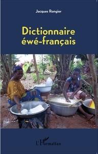 Jacques Rongier - Dictionnaire éwé-français.