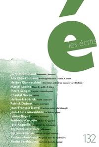 Jacques Roubaud et Pierre Senges - Les écrits. No. 132. Août 2011.