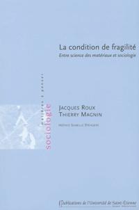Jacques Roux et Thierry Magnin - La condition de fragilité - Entre science des matériaux et sociologie.