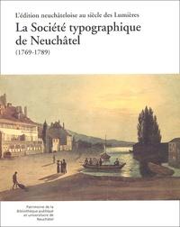 Deedr.fr La Société typographique de Neuchâtel (1769-1789) Image