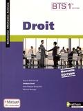 Jacques Saraf et Jean-François Bocquillon - Droit BTS 1re année - Livre + licence élève.