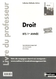 Jacques Saraf - Droit BTS 1re année - Livre du professeur.